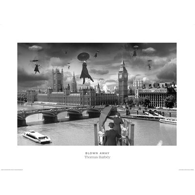 Art Group Blown Away by Thomas Barbey Graphic Art