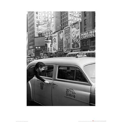 Art Group Time Life - Audrey Hepburn Taxi Photographic Print