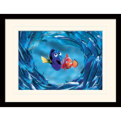 Art Group Finding Nemo Nemo and Dory Framed Vintage Advertisement