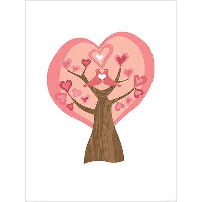 Art Group Tree of Love by Valentina Ramos Graphic Art