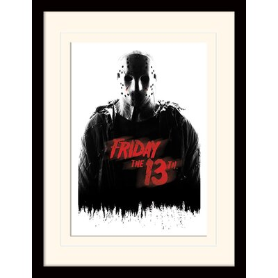 Art Group Friday the 13th Jason Voorhees Framed Vintage Advertisement