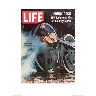 Art Group Time Life - Johnny Cash, 1969 Vintage Advertisement