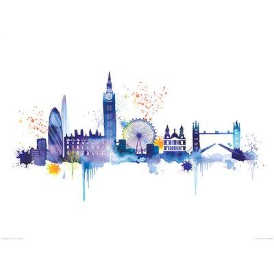Art Group London Skyline by Summer Thornton Graphic Art
