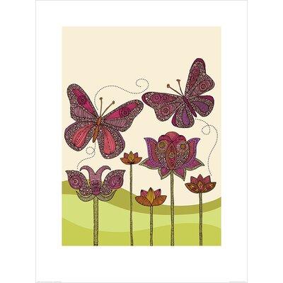 Art Group Butterflies by Valentina Ramos Graphic Art