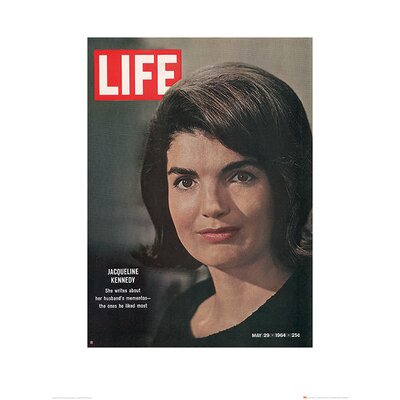 Art Group Time Life - Jackie Kennedy, 1964 Vintage Advertisement