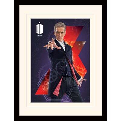 Art Group Doctor Who 12th Doctor Framed Vintage Advertisement