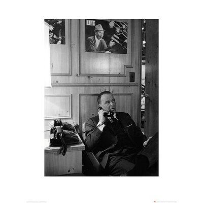 Art Group Time Life - Frank Sinatra Phone Photographic Print