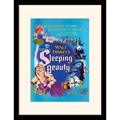 Art Group Sleeping Beauty Glorious Framed Vintage Advertisement