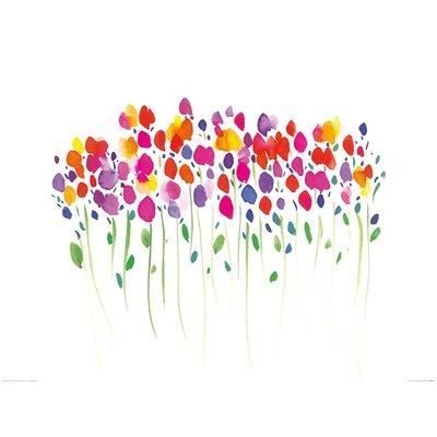 Art Group Vibrant Floral by Summer Thornton Art Print