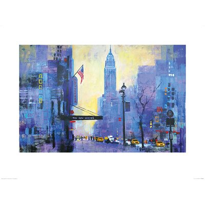 Art Group NY 34st. by Colin Ruffell Art Print