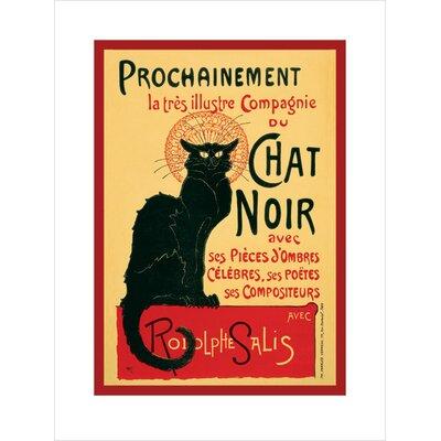 Art Group Chat Noir Poster Vintage Advertisement