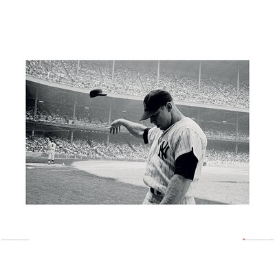 Art Group Time Life - Mickey Mantle 1965 Photographic Print