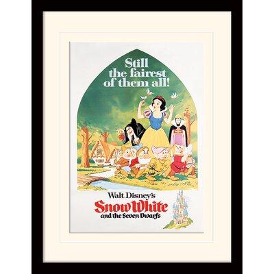 Art Group Snow White Still The Fairest Framed Vintage Advertisement