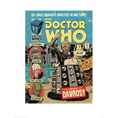 Art Group Doctor Who The Origin of Davros Graphic Art