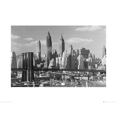 Art Group Time Life - Lower Manhattan Skyline 1948 Photographic Print