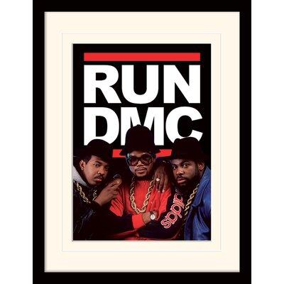 Art Group Run DMC Group Framed Vintage Advertisement