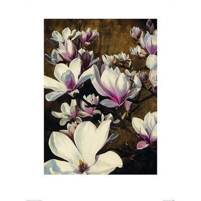 Art Group Magnolia Silk by Sarah Caswell Art Print