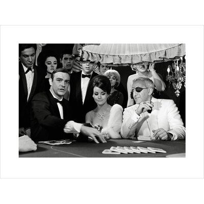 "Art Group James Bond ""Thunderball - Casino"" Photographic Print"