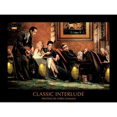 Art Group Classic Interlude by Chris Consani Vintage Advertisement