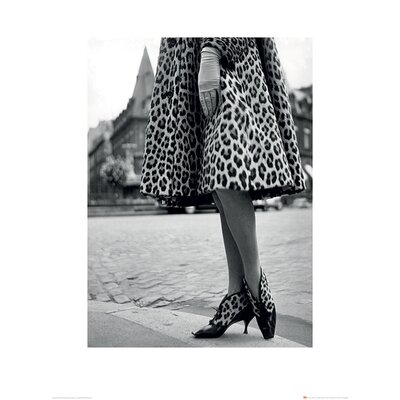Art Group Time Life - Dior Leopard Print Photographic Print