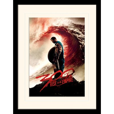 Art Group Blood Wave 300 Rise of An Empire Mounted Framed Vintage Advertisement