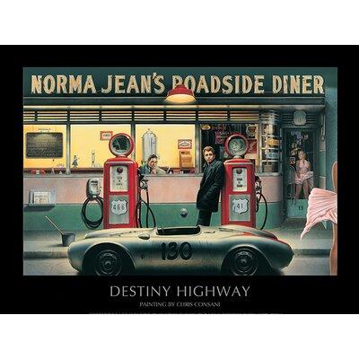Art Group Destiny Highway by Chris Consani Vintage Advertisement