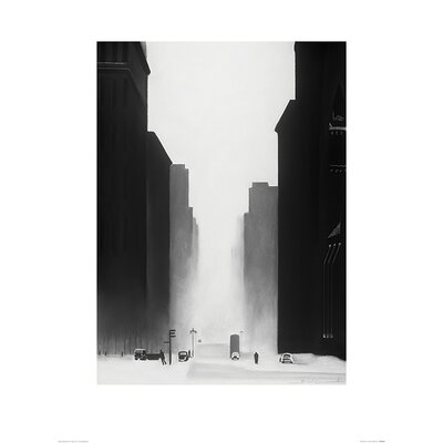 Art Group The Big City by David Cowden Art Print