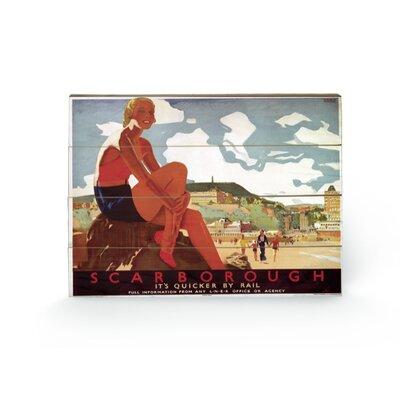 Art Group Scarborough #4 Vintage Advertisement Plaque
