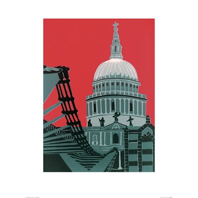 Art Group St. Paul's Cathedral by Jennie Ing Art Print