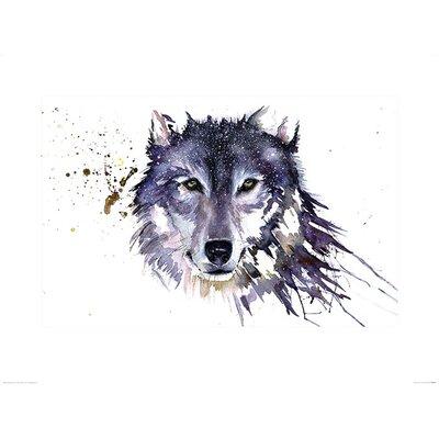 Art Group Snow Wolf by Sarah Stokes Art Print
