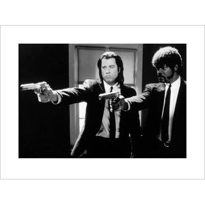 Art Group Pulp Fiction B and W Guns Photographic Print