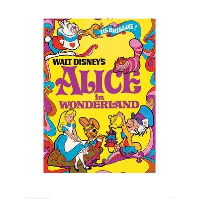Art Group Alice In Wonderland 1974 Poster Vintage Advertisement