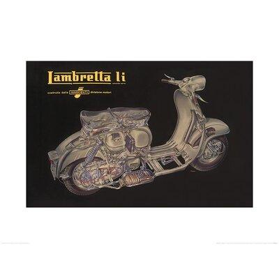 Art Group Lambretta - Li Cutaway Vintage Advertisement