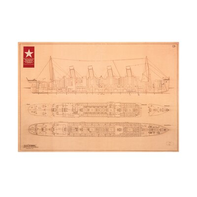 Art Group Plans - Titanic Graphic Art