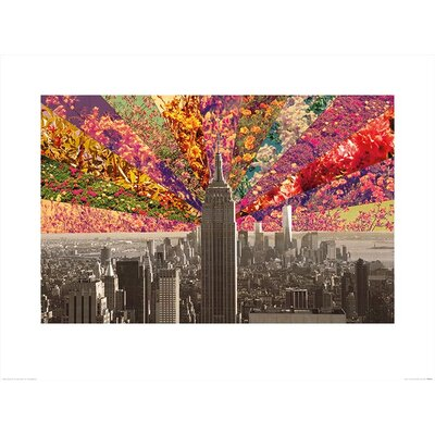 Art Group Flowers of New York by Bianca Green Graphic Art