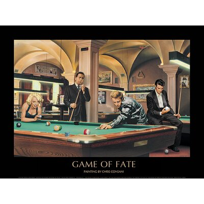 Art Group Game of Fate by Chris Consani Framed Graphic Art