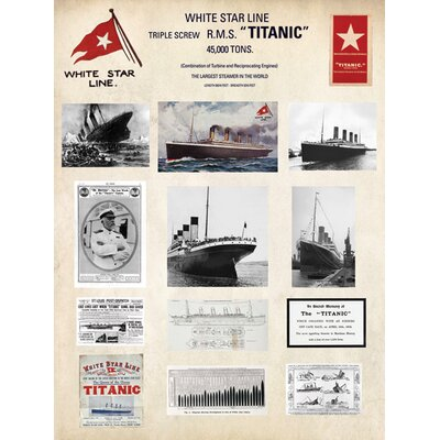 Art Group Collage - Titanic Collage Graphic Art