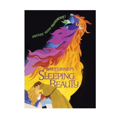 Art Group Sleeping Beauty Ablaze Vintage Advertisement