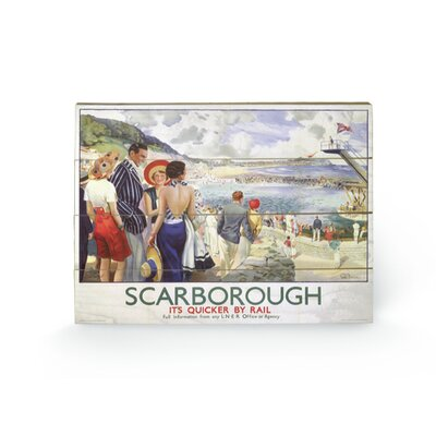 Art Group Scarborough #9 Vintage Advertisement Plaque