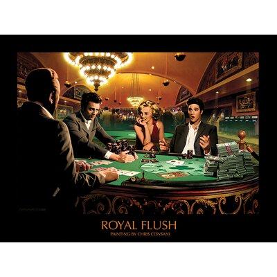Art Group Royal Flush Chris Consani Vintage Advertisement