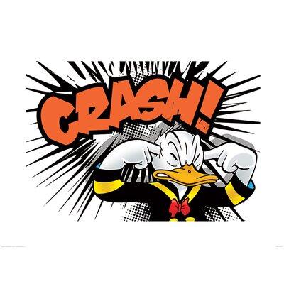 Art Group Donald Duck Crash Graphic Art