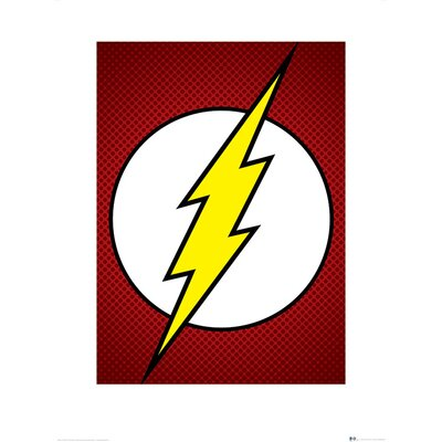 Art Group DC Comics The Flash Symbol Graphic Art
