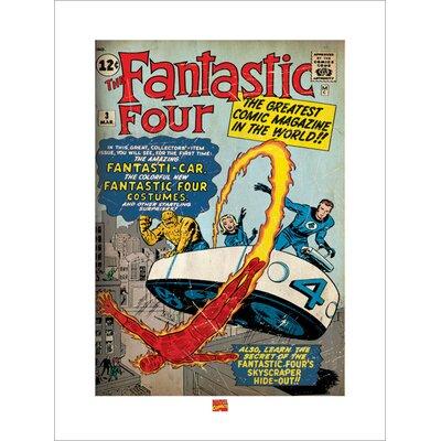 Art Group Fantastic Four Vintage Advertisement