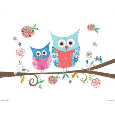 Art Group Hello Owls by Kim Anderson Art Print