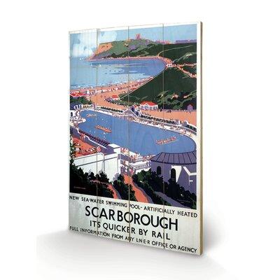 Art Group Scarborough #10 Vintage Advertisement Plaque