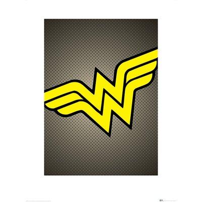 Art Group DC Comics Wonder Woman Symbol Graphic Art