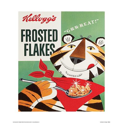 Art Group Vintage Kelloggs - Frosted Flakes Vintage Advertisement