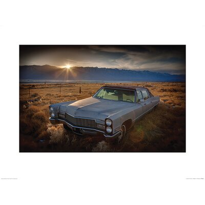Art Group Last Light - Keeler, California by Rod Edwards Photographic Print
