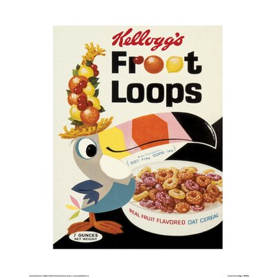 Art Group Vintage Kelloggs - Fruit Loops Vintage Advertisement