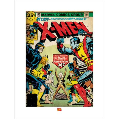 Art Group XMen - 100th Issue Vintage Advertisement